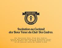 CLUB DES CADRES | Invitation