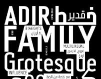 Adir typeface