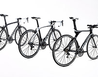 Kestrel Family of Carbon-Fiber Racing Bicycles