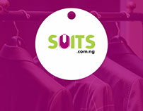 Logo Design for SUITS.COM.NG