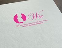 Logo Design: IEEE WIE Affinity Group,IIIT Allahabad
