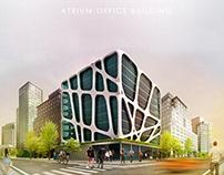 Atrium Office concept