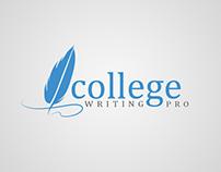 College Writing Pro logo design