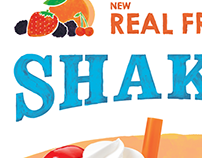 A&W Real Fruit Shakes