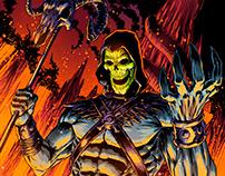 MOTU 2 featuring: Webstor, Man at Arms, Beast Man, Scar