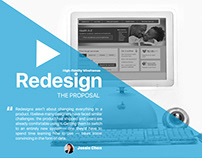 Redesign - The Proposal