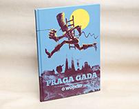 Praga yaks it up.On the war! Comic book.