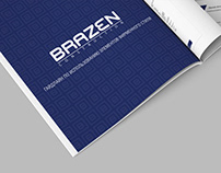 Brandbook Brazen / branding / graphic design /guideline