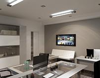 Кабинет директора (2 варианта размещения мебели)