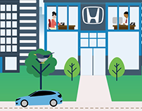 Honda America | Quiz Animations