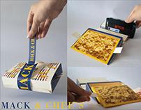 MACK & CHEE'S Packaging