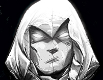 Moon Knight-Hip Hop Variant Cover- Marvel Comics