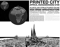 Printed City, Africa 2100