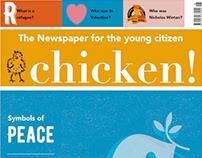 chicken! Newspaper for children Issue 6