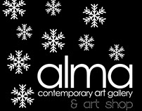 Christmas Project for Alma Contemporary Art Gallery