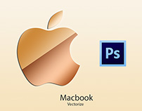 MacBook Vectorize (PSD)