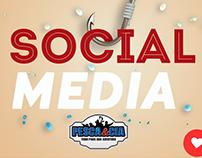 Social media - Pesca & Cia