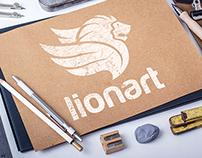 Lionart Logo Design