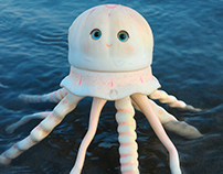 Squishy, the jellysifh (artesanal BJD)