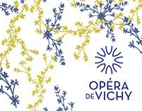 Opéra de vichy - Visual identity