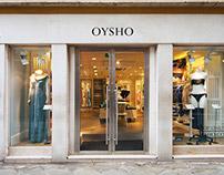 Photography of Visual Merchandising / Brand: OYSHO