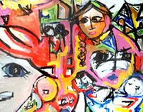 gUrsLa 2016, emerging artist, abstract painter