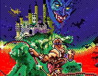 Pixelated MSX2 Cover Arts