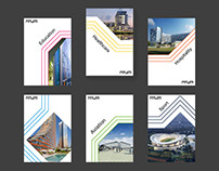 Booklet series on RMJM's architectural services
