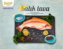 Salat Oil Print Ads