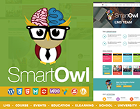 SmartOWL - LMS / Course / eLearning WordPress Theme