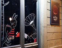 Window Illustration / Bottega Baretti