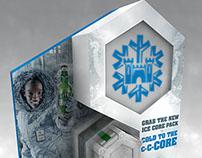 Castle Lite Ice Core POP