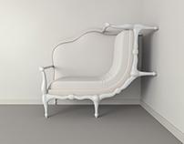 Surreal canape sofa - Lila Jang