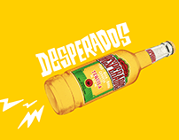 Desperados - Social Media, emails UX/UI & banners