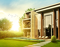 Architectural Visualization for Modern Villa