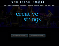 Christian Howes Website Redesign