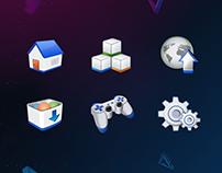 SEGA 软件界面设计