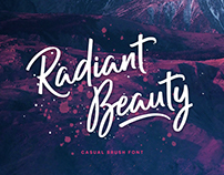 Radiant Beauty - Casual Brush Font