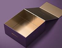 Magnetic Gift Box Mockup Set 02