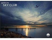 Delta Sky Club Menu Application