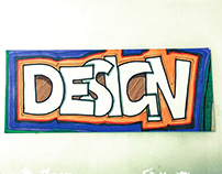 Handsketched Typographic illustration