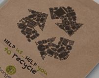 Bangea Recycle // Branding