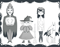 Halloween Theme character design