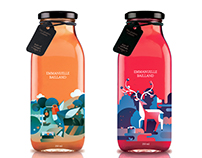 Packaging de jus