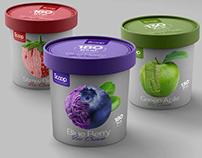 Scoop Ice Cream Packaging Design