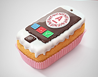 Mobile Cake