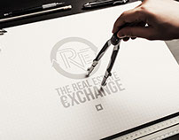The Real Estate Logo Design | AM-98 Designers |