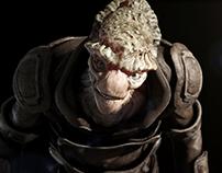 Leather Alien