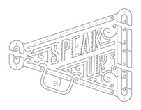 Speak Up Title screen