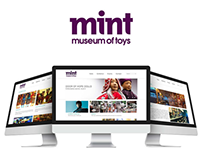 Mint Museum Website Redesign